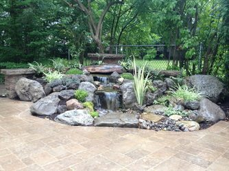 New Orleans Water Features Landscape Enhancement - Big Easy Landscaping