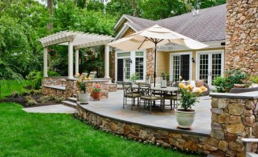 New Orleans style patio designs - Big Easy Landscaping