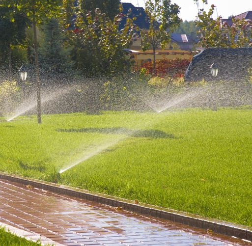 irrigation systems in ground sprinklers