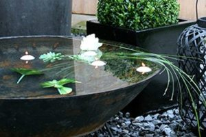 Container Water Garden - Big Easy Landscaping