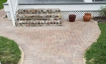 Concrete walkway contractors Services New Orleans - Big Easy Landscaping