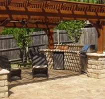 outdoor kitchens new orleans - Big Easy Landscaping