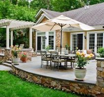 new orleans patio design - Big Easy Landscaping