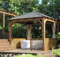 Outdoor gazebos in new orleans - Big Easy Landscaping