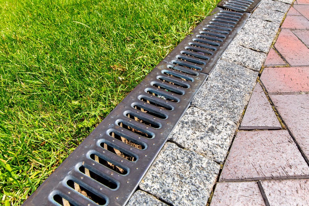 landscape drainage - Big Easy Landscaping