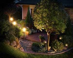 garden lights - Big Easy Landscaping