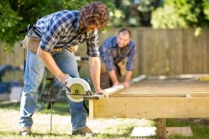 professional deck builders - Big Easy Landscaping