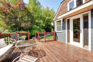 home deck size - Big Easy Landscaping