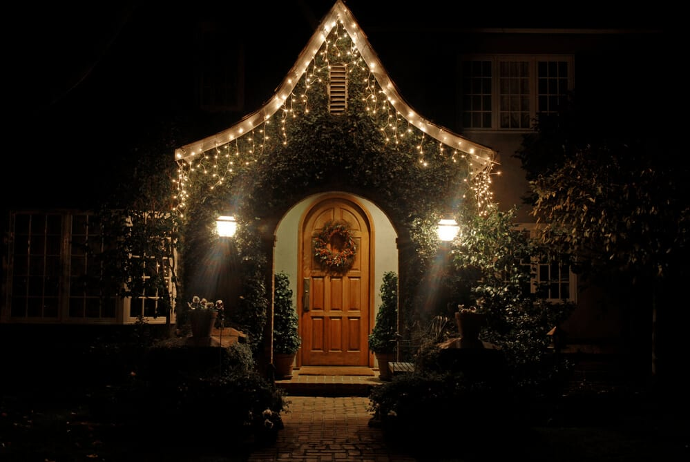 door lights - Big Easy Landscaping