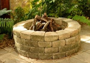 fire pit material - Big Easy Landscaping