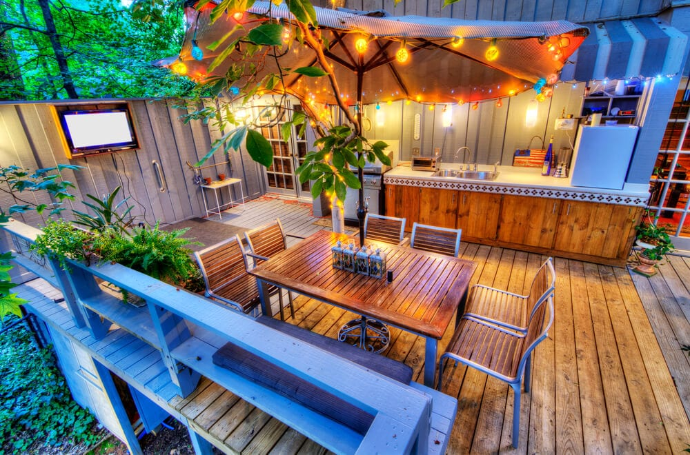 outdoor home decks in New Orleans - Big Easy Landscaping