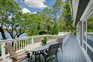 composite decks - Big Easy Landscaping