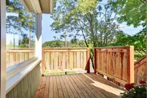 checking your deck's temperature - Big Easy Landscaping