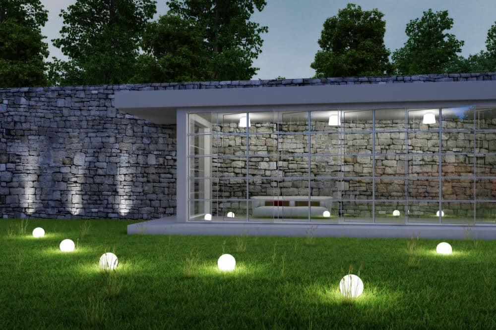 LED path lights - Big Easy Landscaping