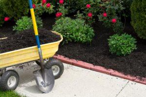 mulching for garden - Big Easy Landscaping