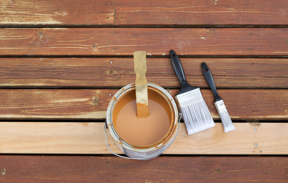 paint deck designs - Big Easy Landscaping