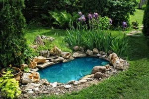 garden pond - Big Easy Landscaping