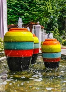 pot fountains - Big Easy Landscaping