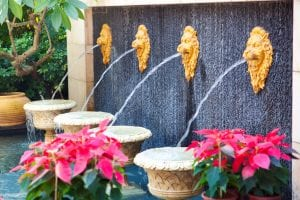 wall fountains - Big Easy Landscaping